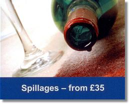 carpet spot cleaning. Stains spillages and dirty marks